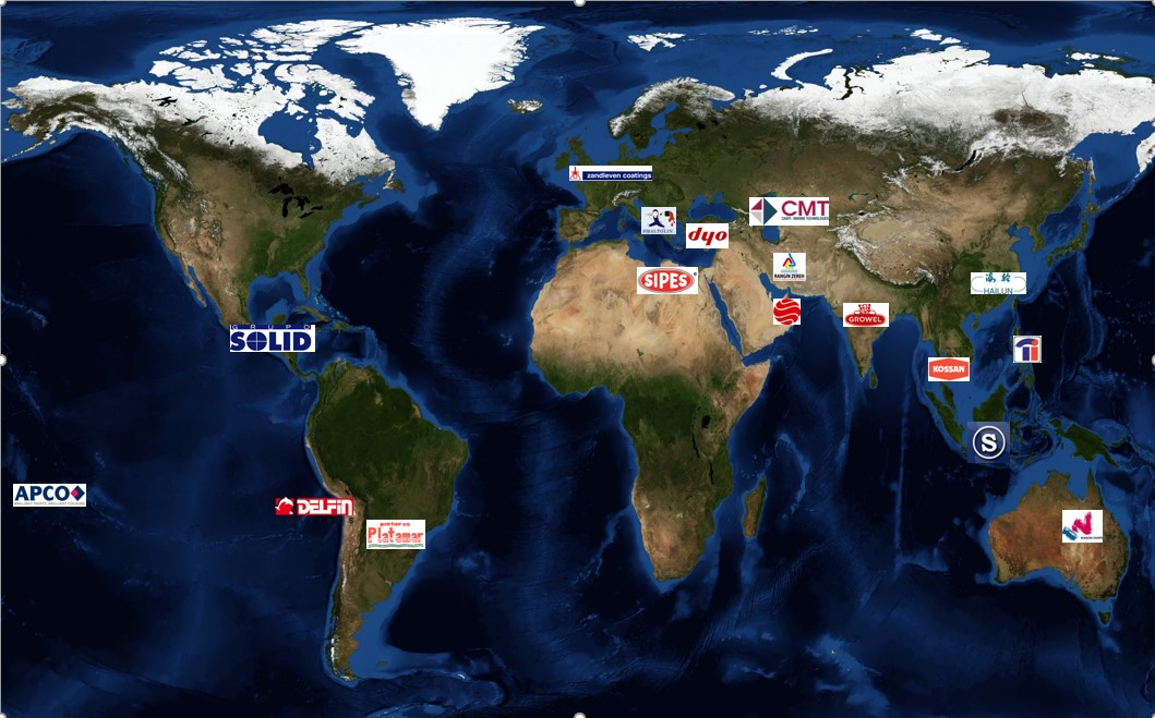 Transocean member map